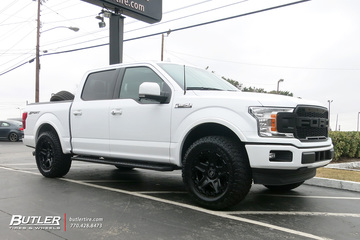Ford F150 with 20in Black Rhino Cog Wheels