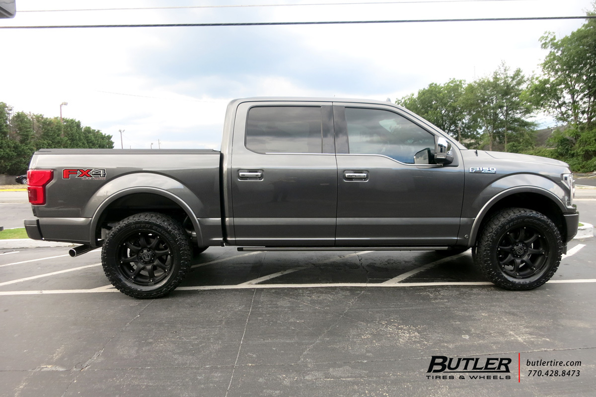 Ford F150 with 20in Black Rhino Glamis Wheels