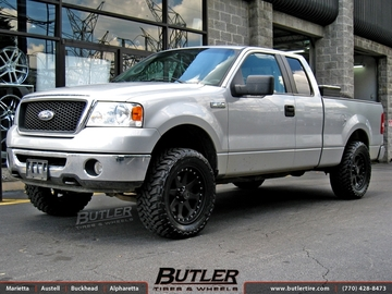 Ford F150 with 20in Black Rhino Imperial Wheels