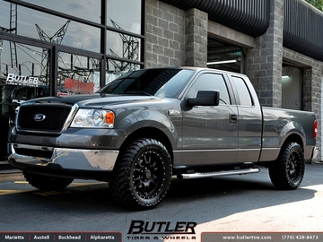 Ford F150 with 20in Black Rhino Lucerne Wheels