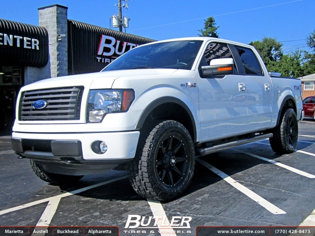Ford F150 with 20in Black Rhino Moab Wheels