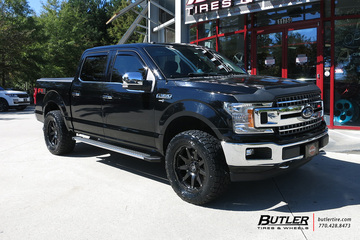Ford F150 with 20in Black Rhino Oceano Wheels