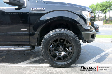 Ford F150 with 20in Black Rhino Overland Wheels
