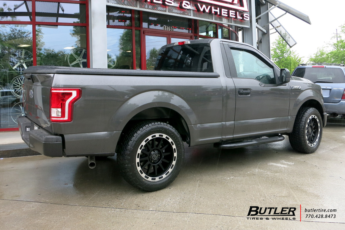 Ford F150 with 20in Black Rhino Revolution Wheels