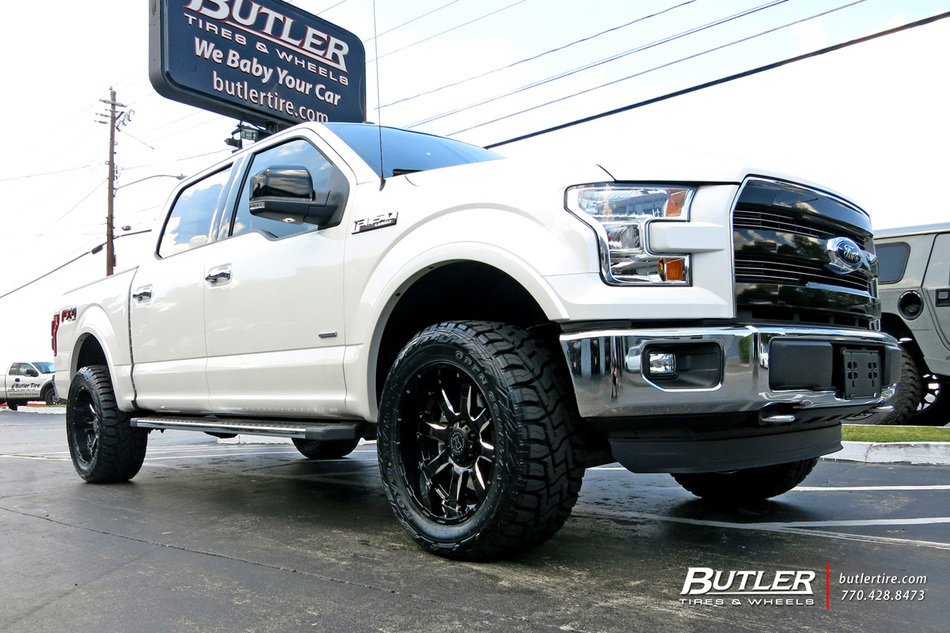Ford F150 With 20in Black Rhino Sierra Wheels Exclusively