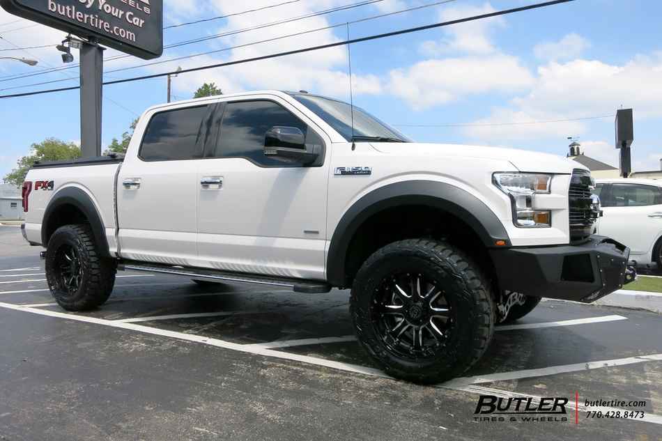 Ford F150 with 20in Black Rhino Sierra Wheels exclusively ...