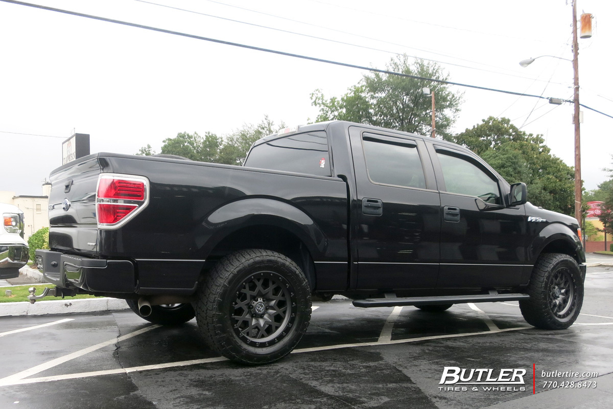 Ford F150 with 20in Black Rhino Sprocket Wheels