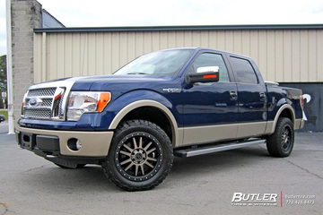 Ford F150 with 20in Black Rhino Tanay Wheels
