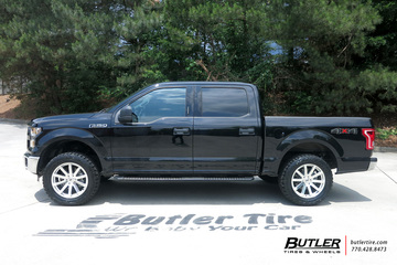 Ford F150 with 20in Black Rhino Traverse Wheels