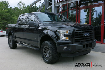 Ford F150 with 20in Black Rhino Warlord Wheels