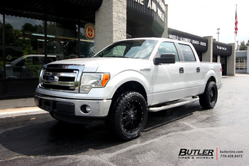 Ford F150 with 20in Dropstar 645B Wheels