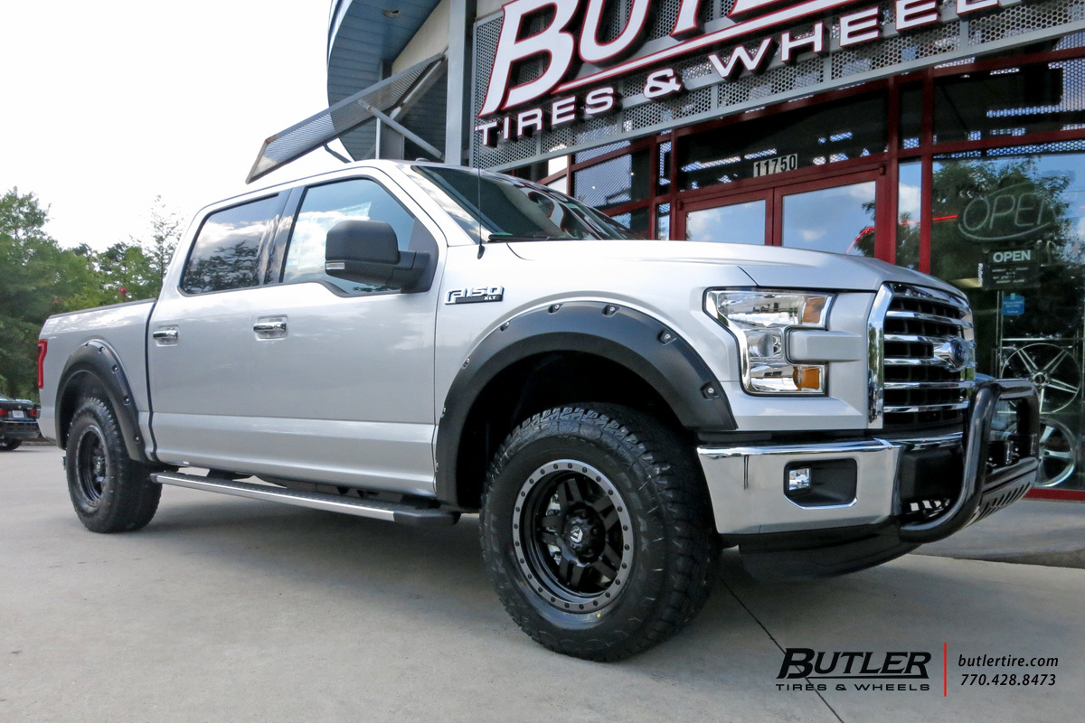 Ford F150 with 20in Fuel Anza Wheels