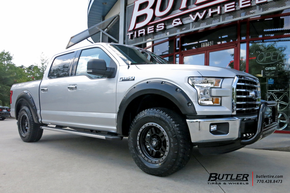 Ford F150 with 20in Fuel Anza Wheels exclusively from Butler Tires and Wheels in Atlanta, GA ...