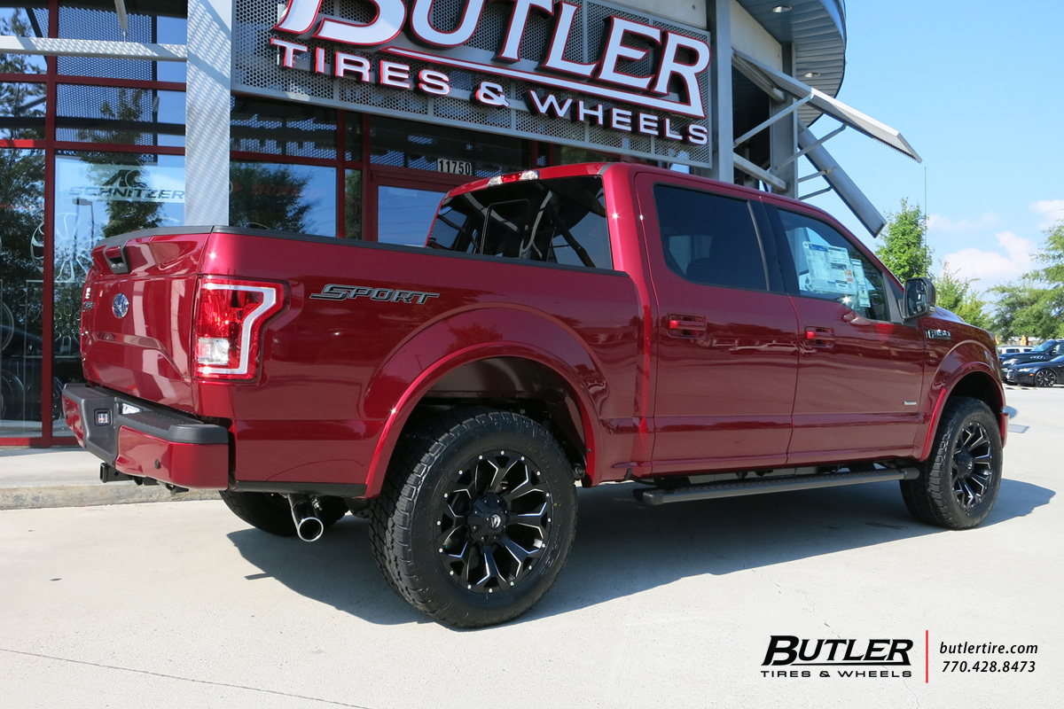 Ford F150 with 20in Fuel Assault Wheels