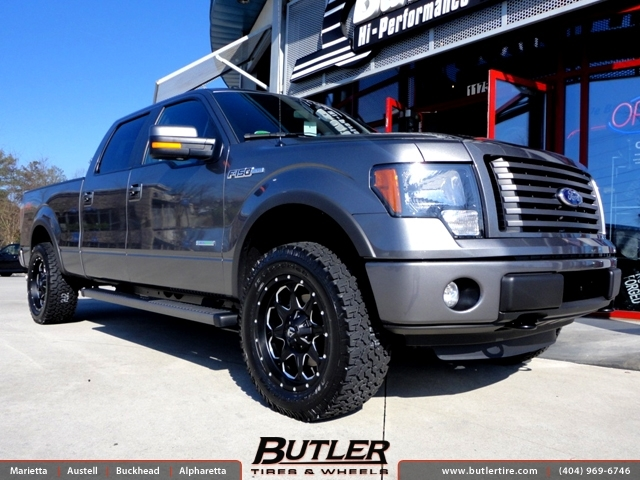 Ford F150 with 20in Fuel Boost Wheels