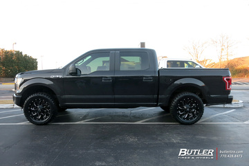 Ford F150 with 20in Fuel Cleaver Wheels