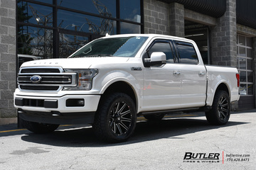 Ford F150 with 20in Fuel Contra Wheels