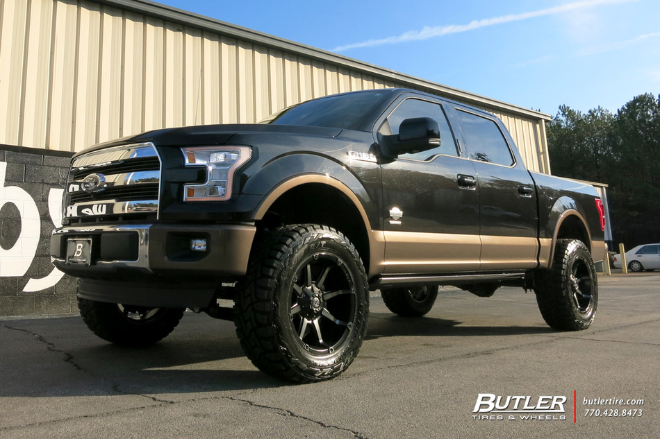 Ford F150 with 20in Fuel Coupler Wheels exclusively from ...