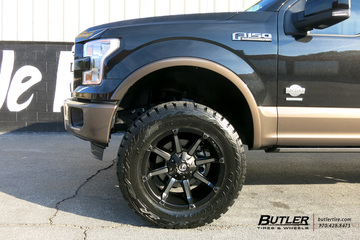 Ford F150 with 20in Fuel Coupler Wheels