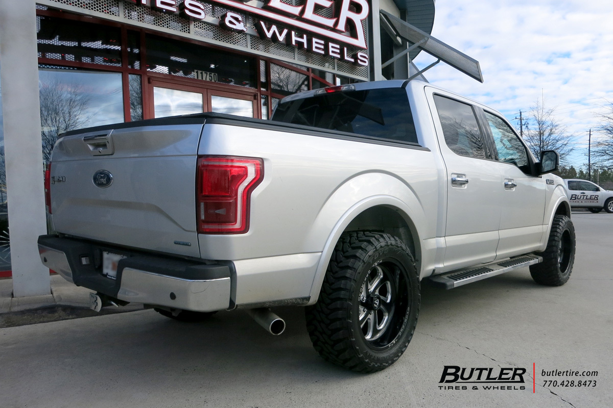 Ford F150 with 20in Fuel Flow Wheels