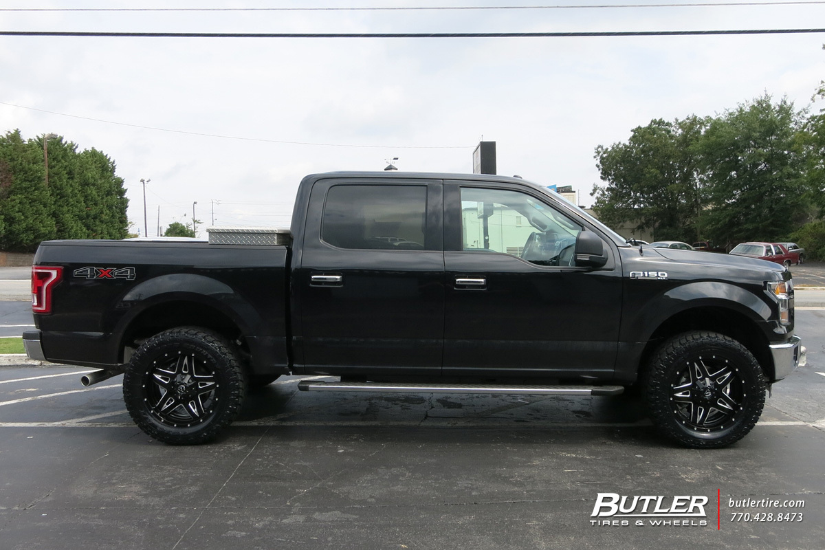 Ford F150 with 20in Fuel Full Blown Wheels