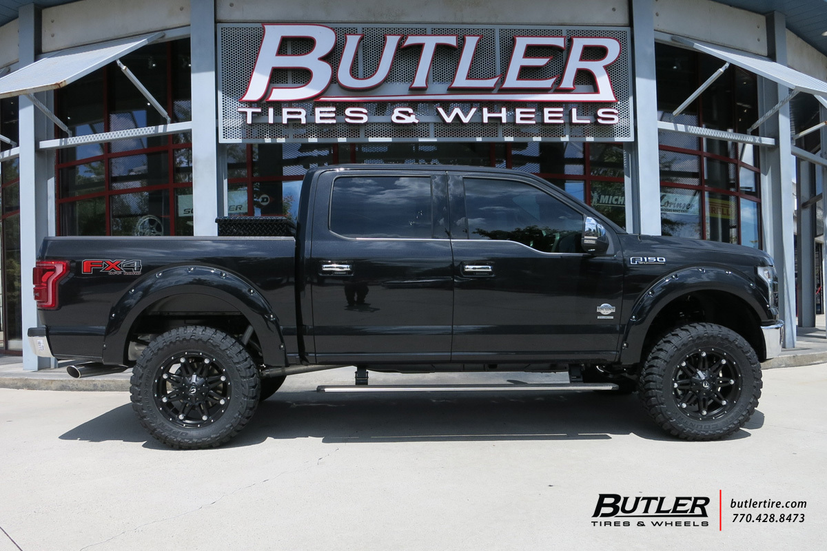 Ford F150 With 20in Fuel Hostage Wheels Exclusively From