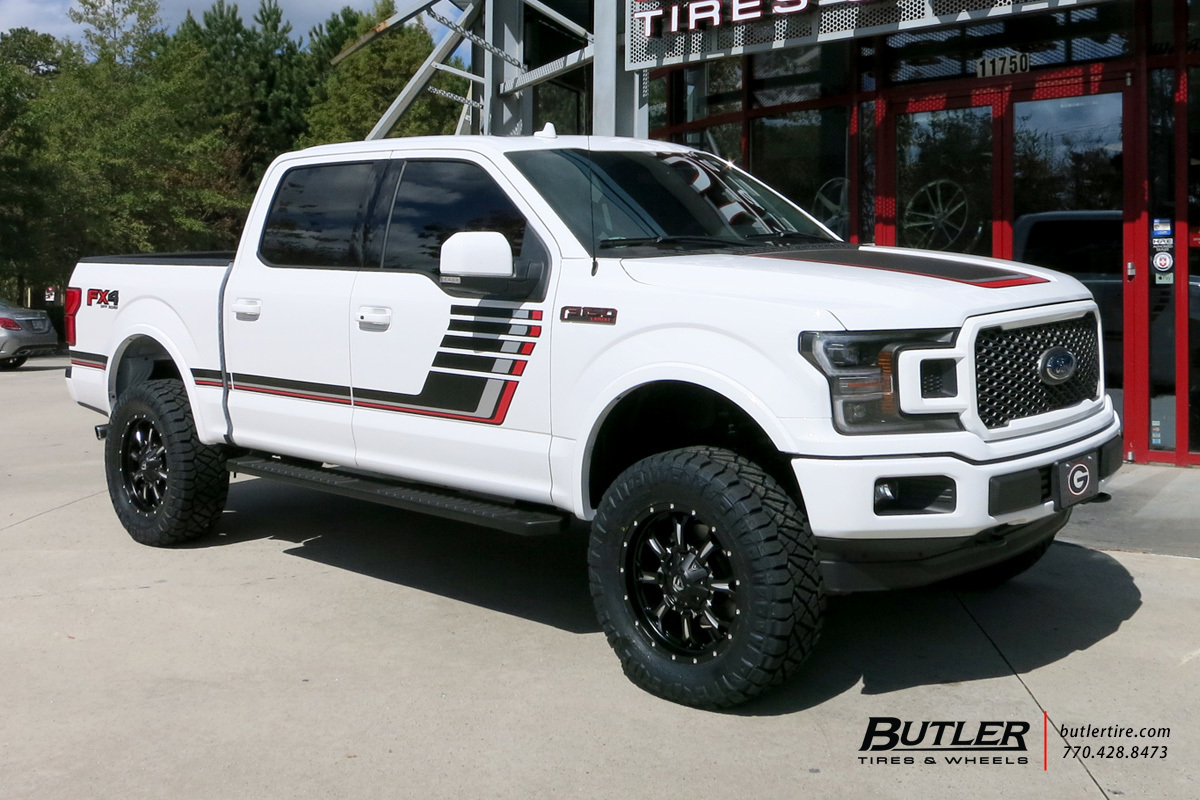 Ford F150 with 20in Fuel Krank Wheels exclusively from ...