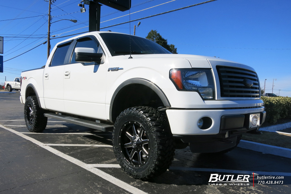 2017 Ford F150 Lifted >> Ford F150 with 20in Fuel Maverick Wheels exclusively from ...