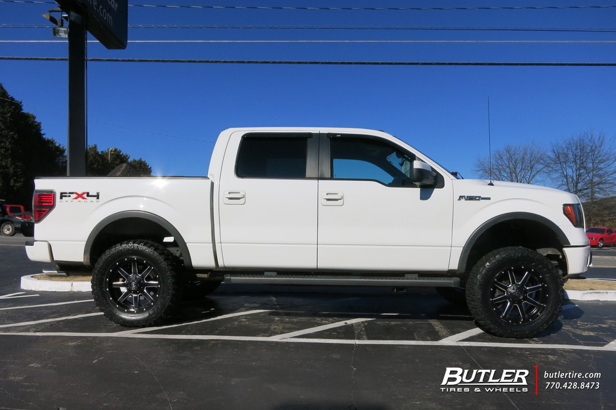 Ford F150 With 20in Fuel Maverick Wheels Exclusively From Butler