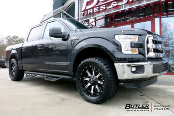 Ford F150 with 20in Fuel Nutz Wheels