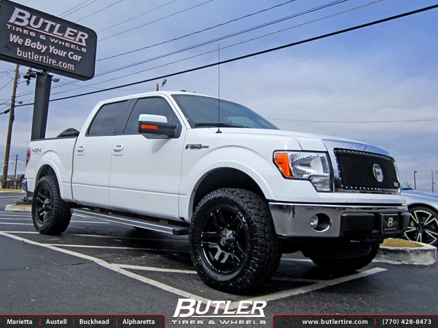 Ford F150 with 20in Fuel Pump Wheels