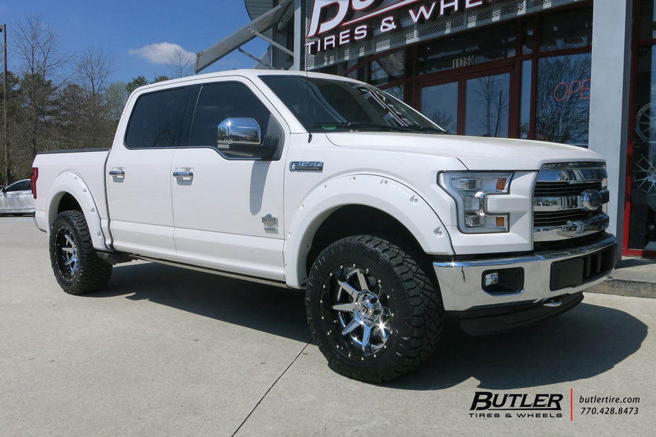 Ford F150 with 20in Fuel Rampage Wheels exclusively from ...