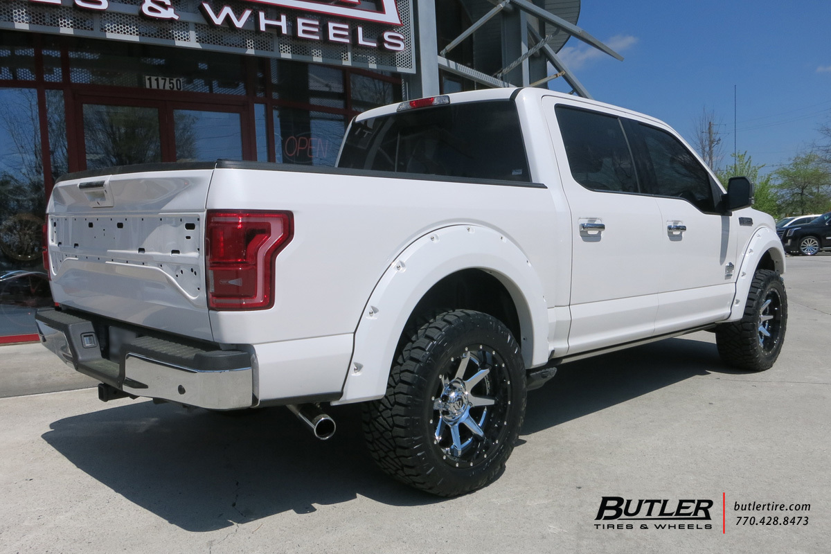 Ford F150 with 20in Fuel Rampage Wheels