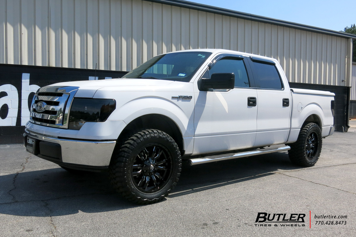 Ford F150 with 20in Fuel Sledge Wheels