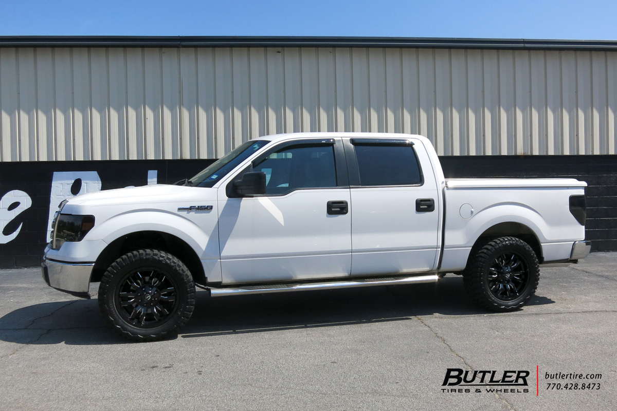 Ford F150 With 20in Fuel Sledge Wheels Exclusively From