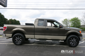 Ford F150 with 20in Fuel Throttle Wheels