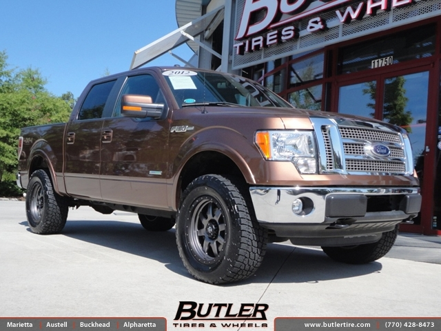 Ford F150 with 20in Fuel Trophy Wheels exclusively from ...