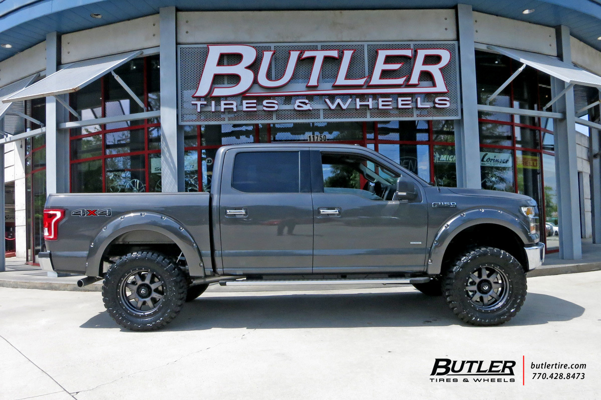 Ford F150 With 20in Fuel Trophy Wheels Exclusively From