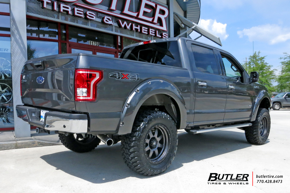 Ford F150 with 20in Fuel Trophy Wheels