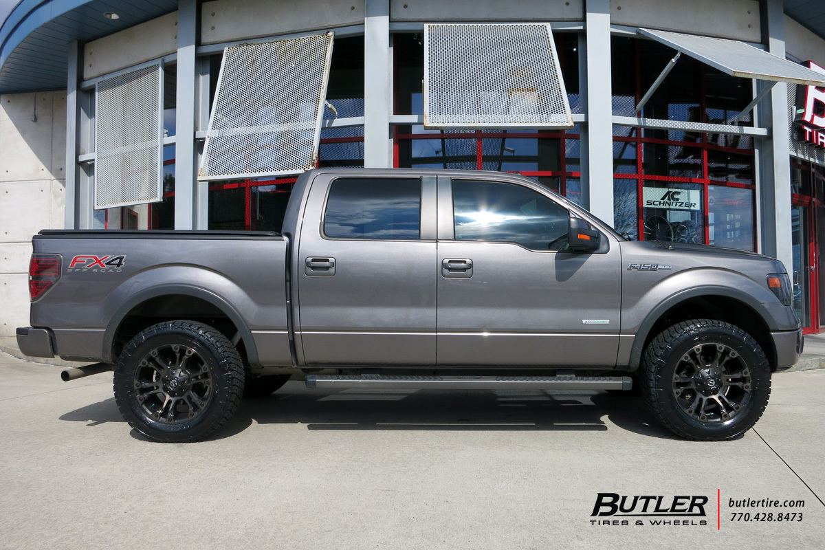 Ford F150 With 20in Fuel Vapor Wheels Exclusively From