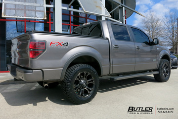 Ford F150 with 20in Fuel Vapor Wheels