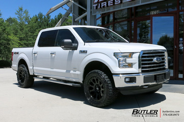 Ford F150 with 20in Fuel Vector Wheels