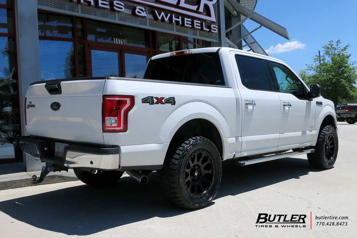 Ford F150 With 20in Fuel Vector Wheels Exclusively From