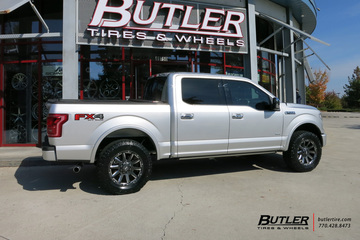 Ford F150 with 20in Grid Offroad GD5 Wheels