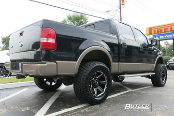 Ford F150 with 20in Grid Offroad GD6 Wheels