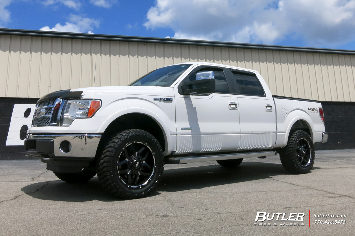 Ford F150 with 20in Grid Offroad GD7 Wheels
