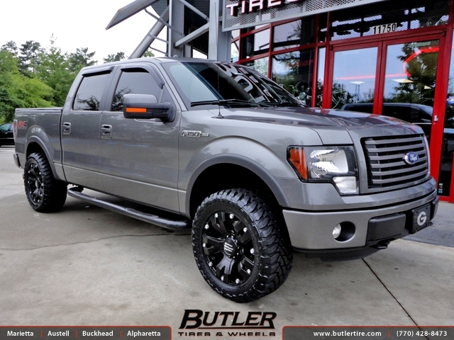 Ford F150 with 20in Monster Energy Wheels