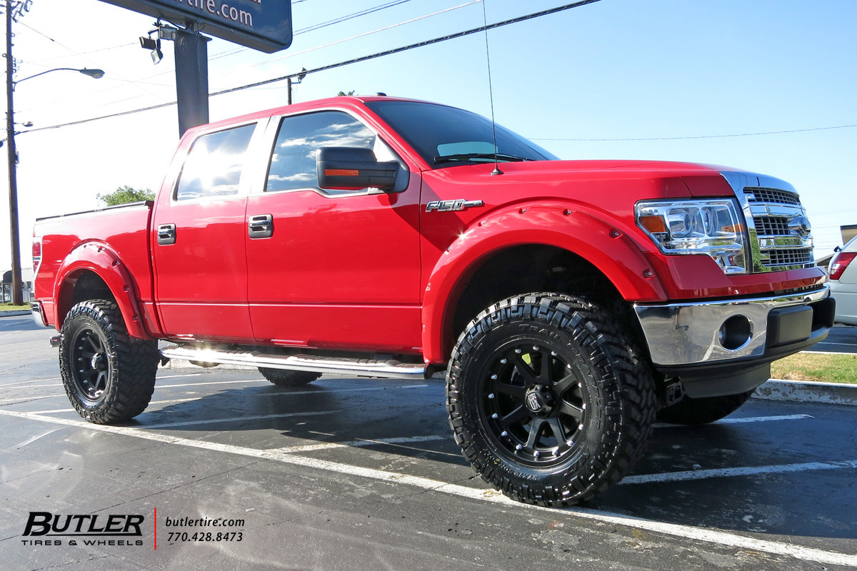 Ford F150 With 20in Xd Addict Wheels Exclusively From