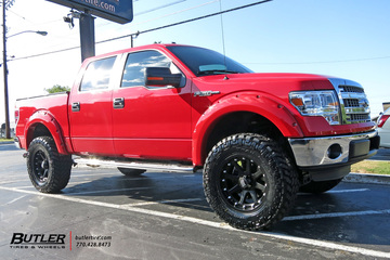 Ford F150 with 20in XD Addict Wheels