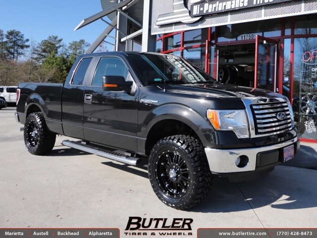 ford f150 with 20in xd hoss wheels